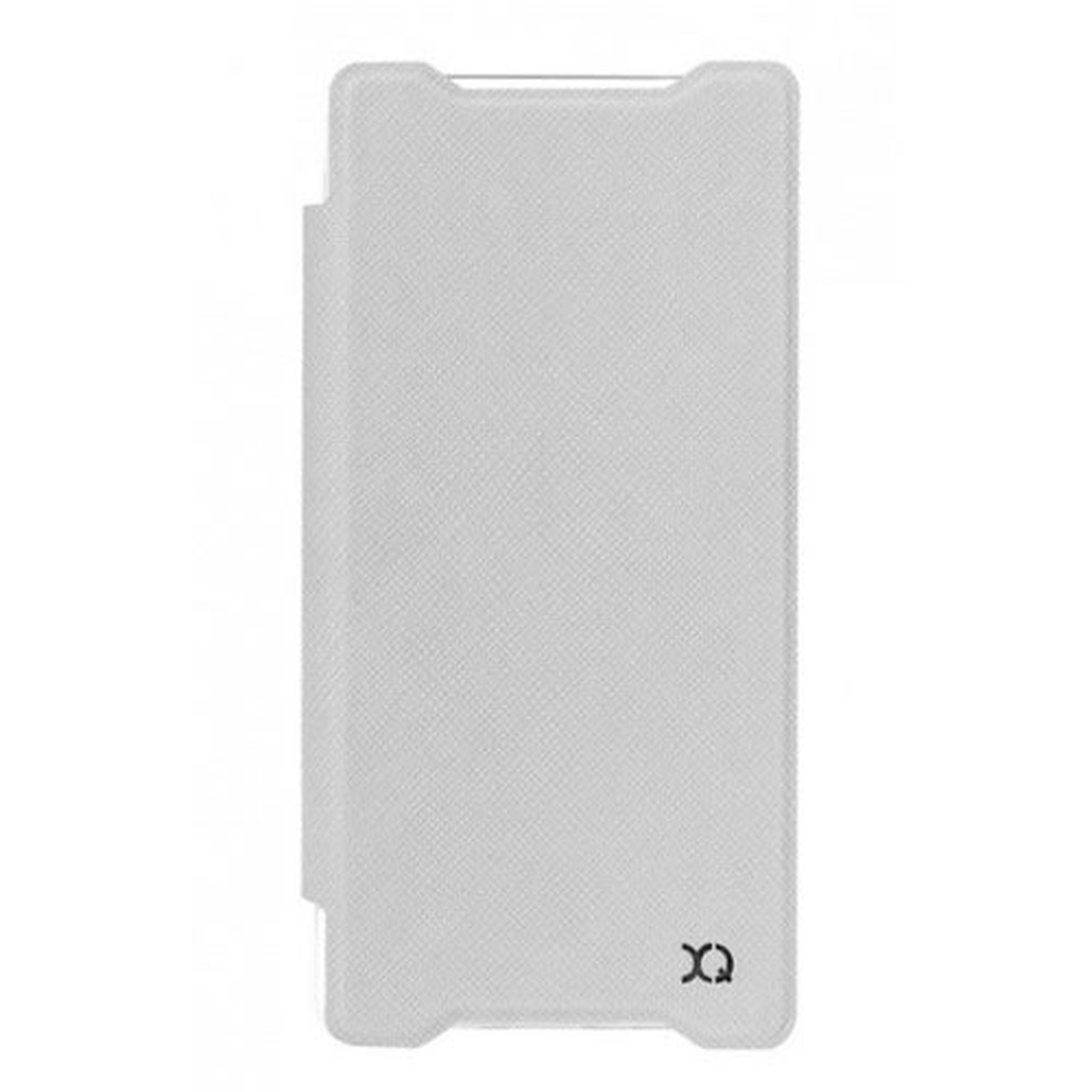 xqisit Etui Flap Cover Adour Blanc Sony Xperia Z5 Compact