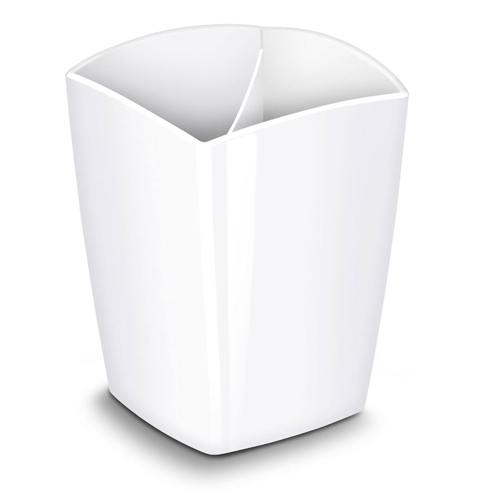 CEP Gloss Pot à crayons magnétique Blanc