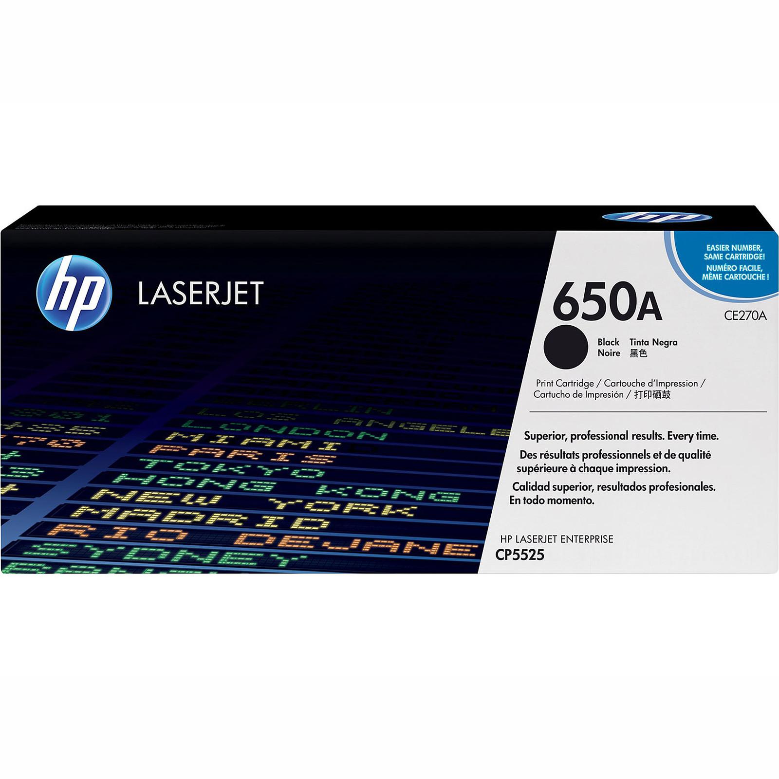 HP LaserJet 650A (CE270A)