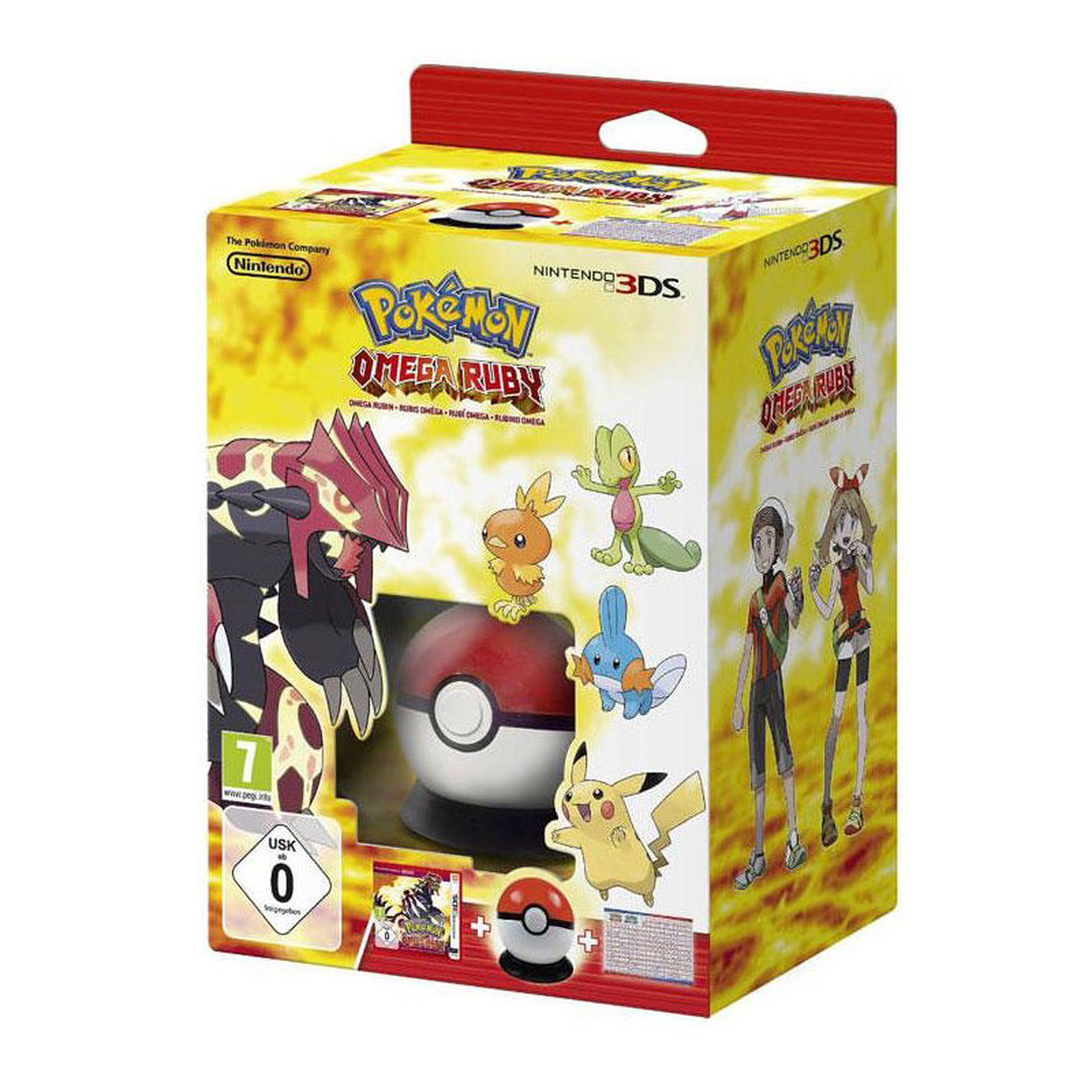 Pokémon : Rubis Oméga + Pokeball + Poster (Nintendo 3DS/2DS)