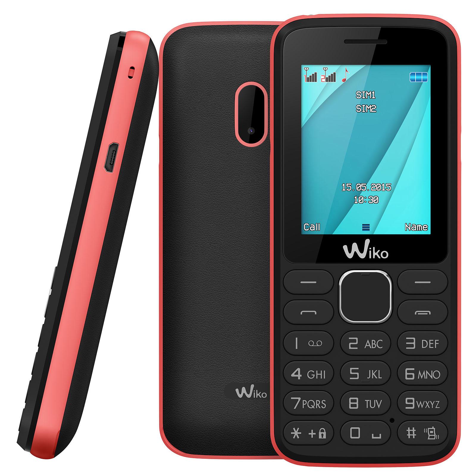 Wiko Lubi 4 Noir/Rose - Mobile & smartphone Wiko sur LDLC.com ...