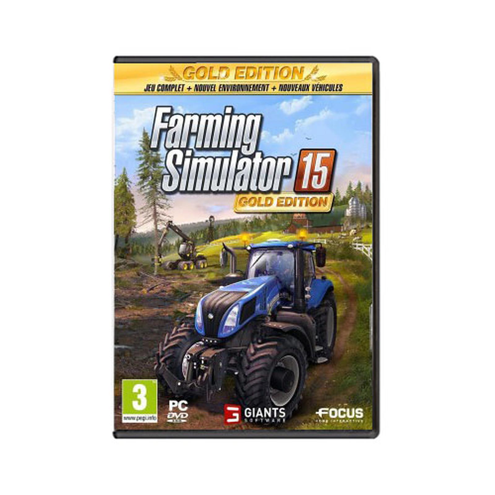 Farming Simulator 15 - Edition Gold (PC)