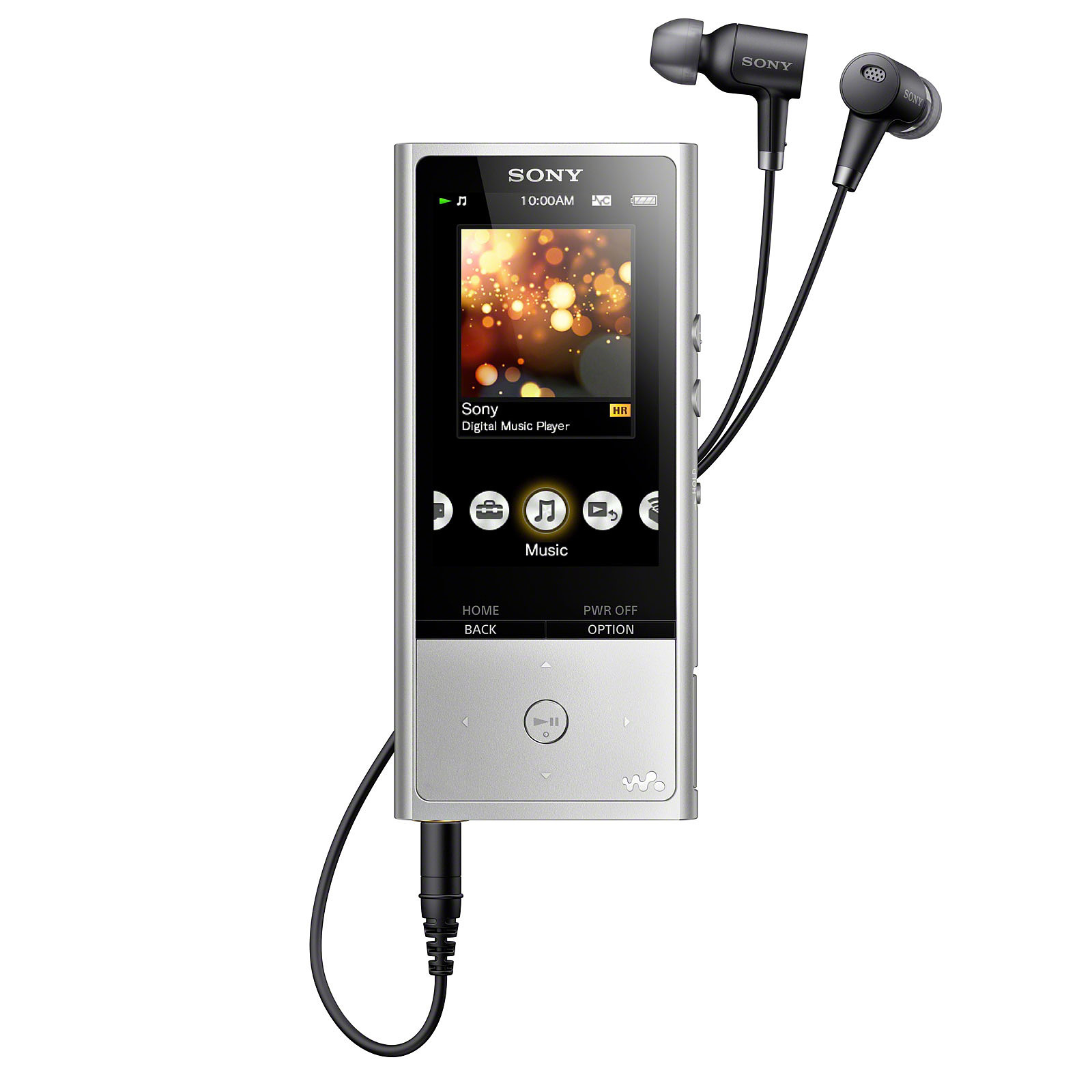 Sony NW-ZX100 Argent