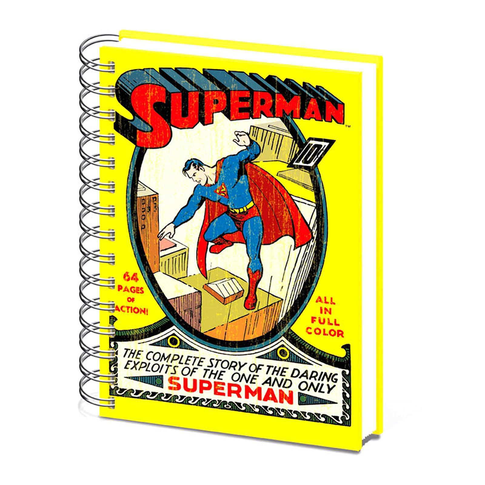 Cahier A5 Superman