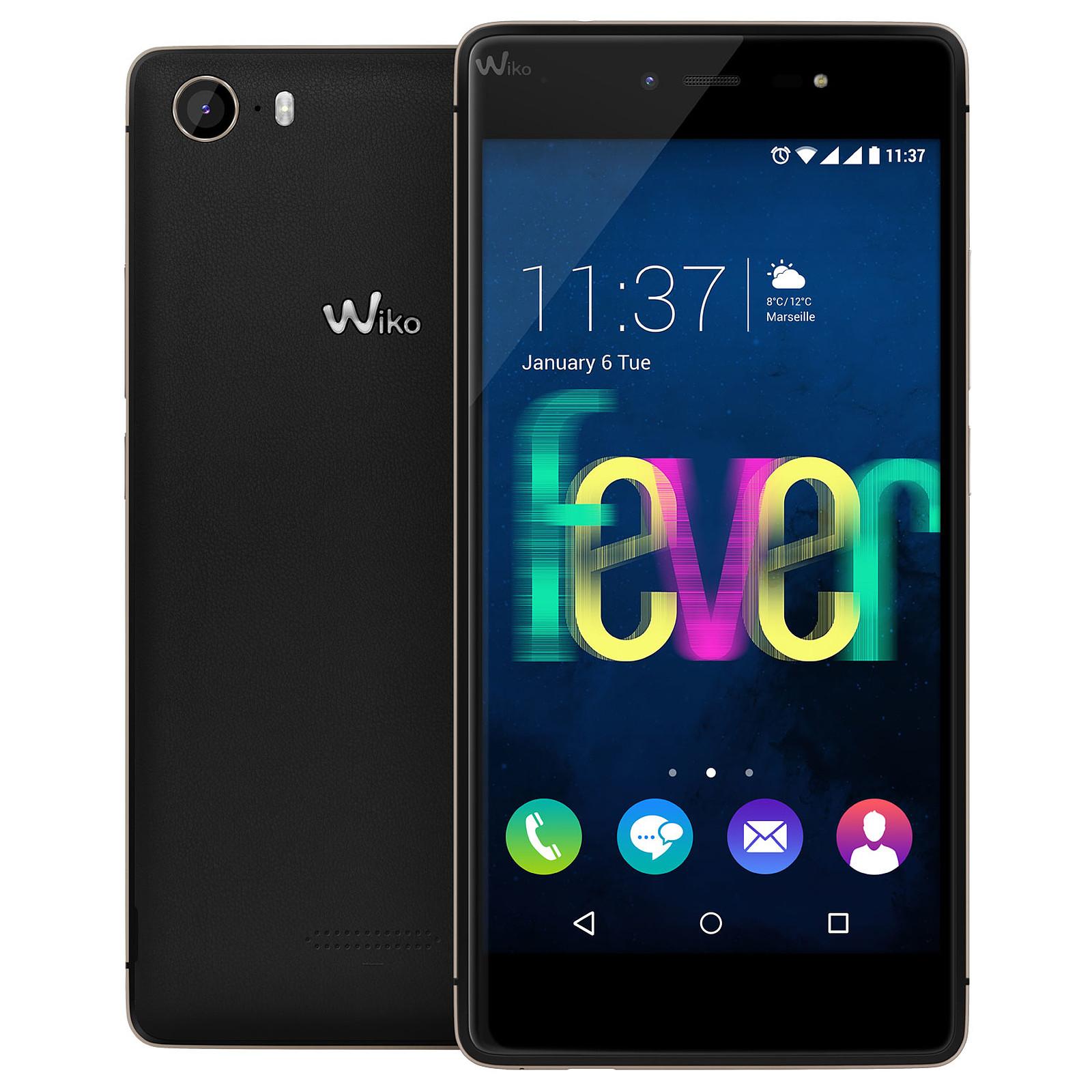 Wiko Fever 4G Noir/Or