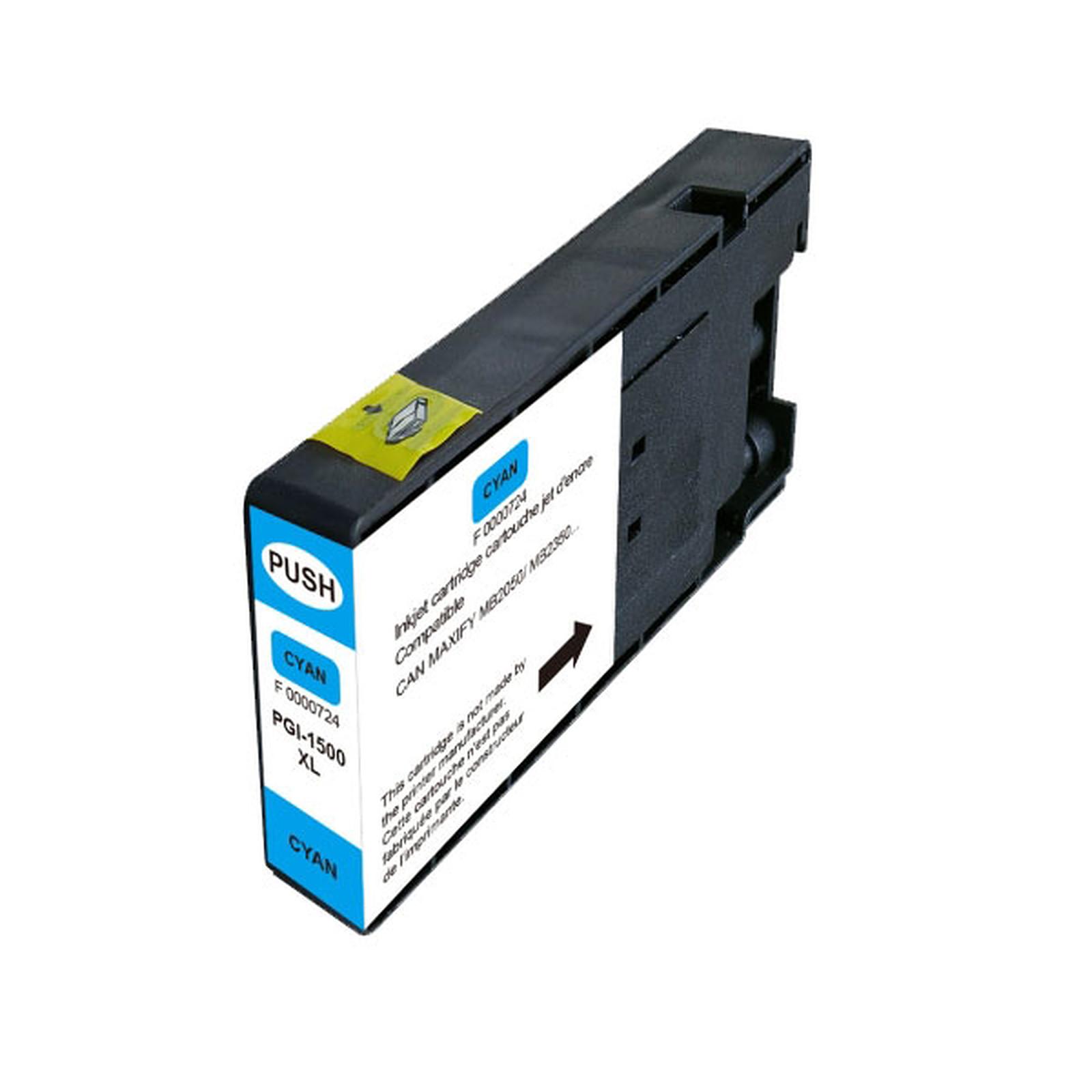 Cartouche compatible Canon PGI-1500XL C (Cyan)