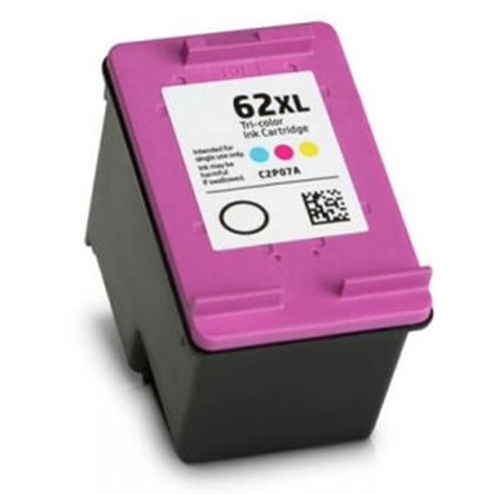 Cartouche compatible HP 62XL (Couleur)