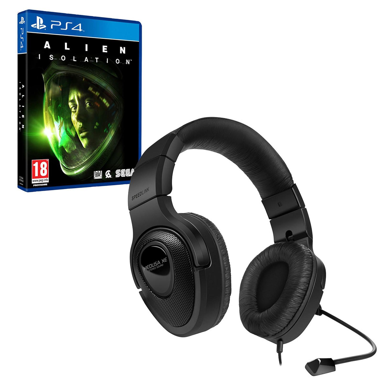 Speedlink Medusa XE (PS4) + Alien Isolation (PS4) OFFERT !