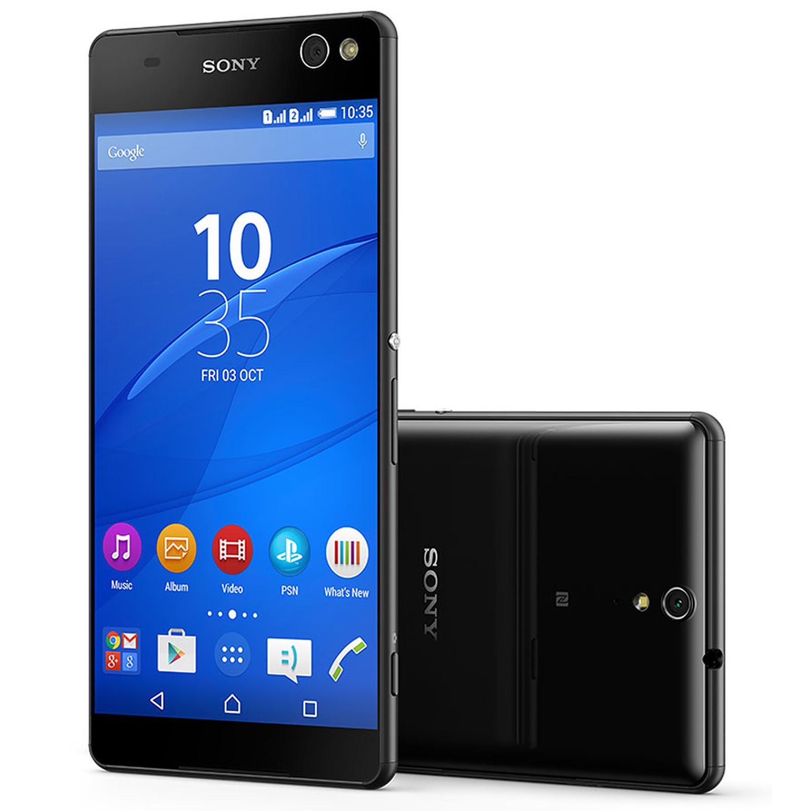 Sony Xperia C5 Ultra Dual Noir
