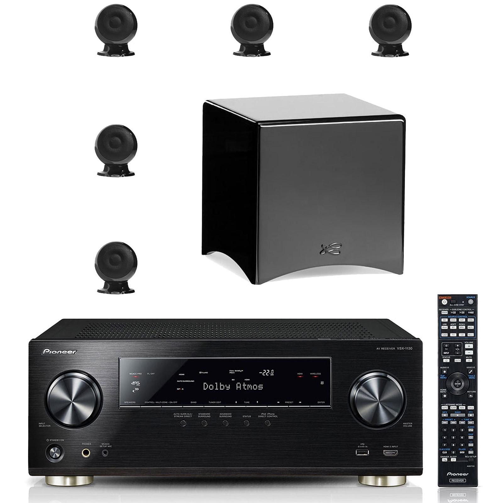 Pioneer VSX-1130-K + Cabasse pack Eole 3 5.1 WS