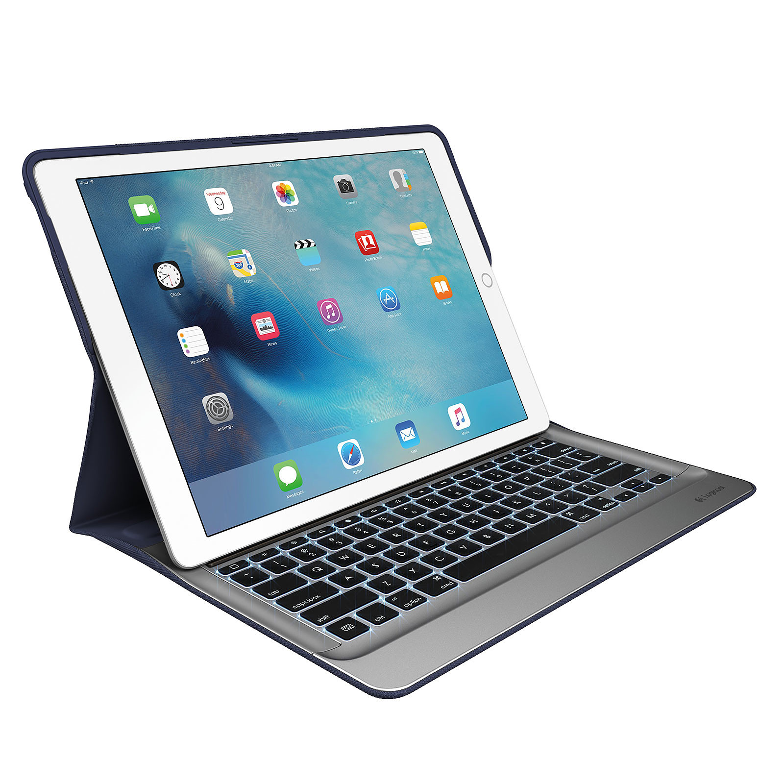 """Logitech Create Keyboard Case Noir (iPad Pro 12.9"""" 1ère génération)"""