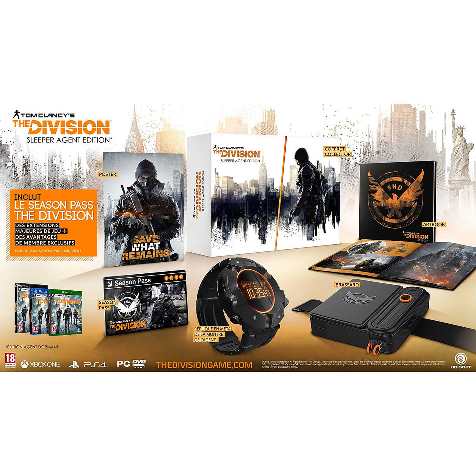 Tom Clancy's : The Division - Sleeper Agent Edition (PC)