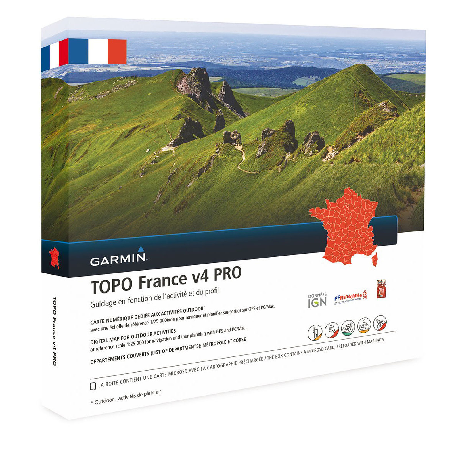 Garmin TOPO France v4 Pro - France