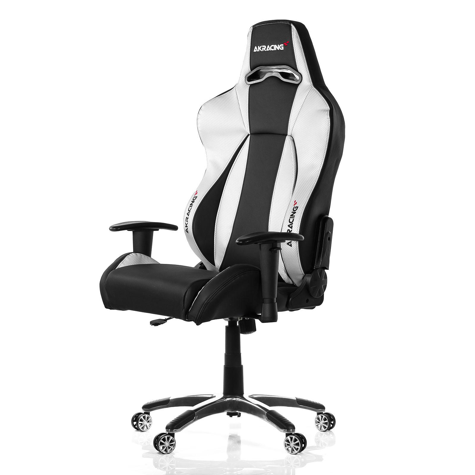 AKRacing Premium Gaming Chair (argent)