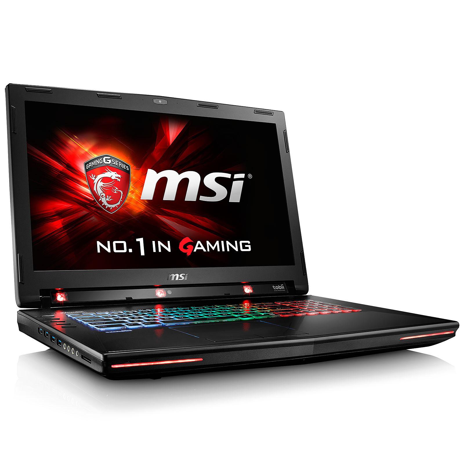 MSI GT72S 6QE-857FR Dominator Pro G 4K Tobii