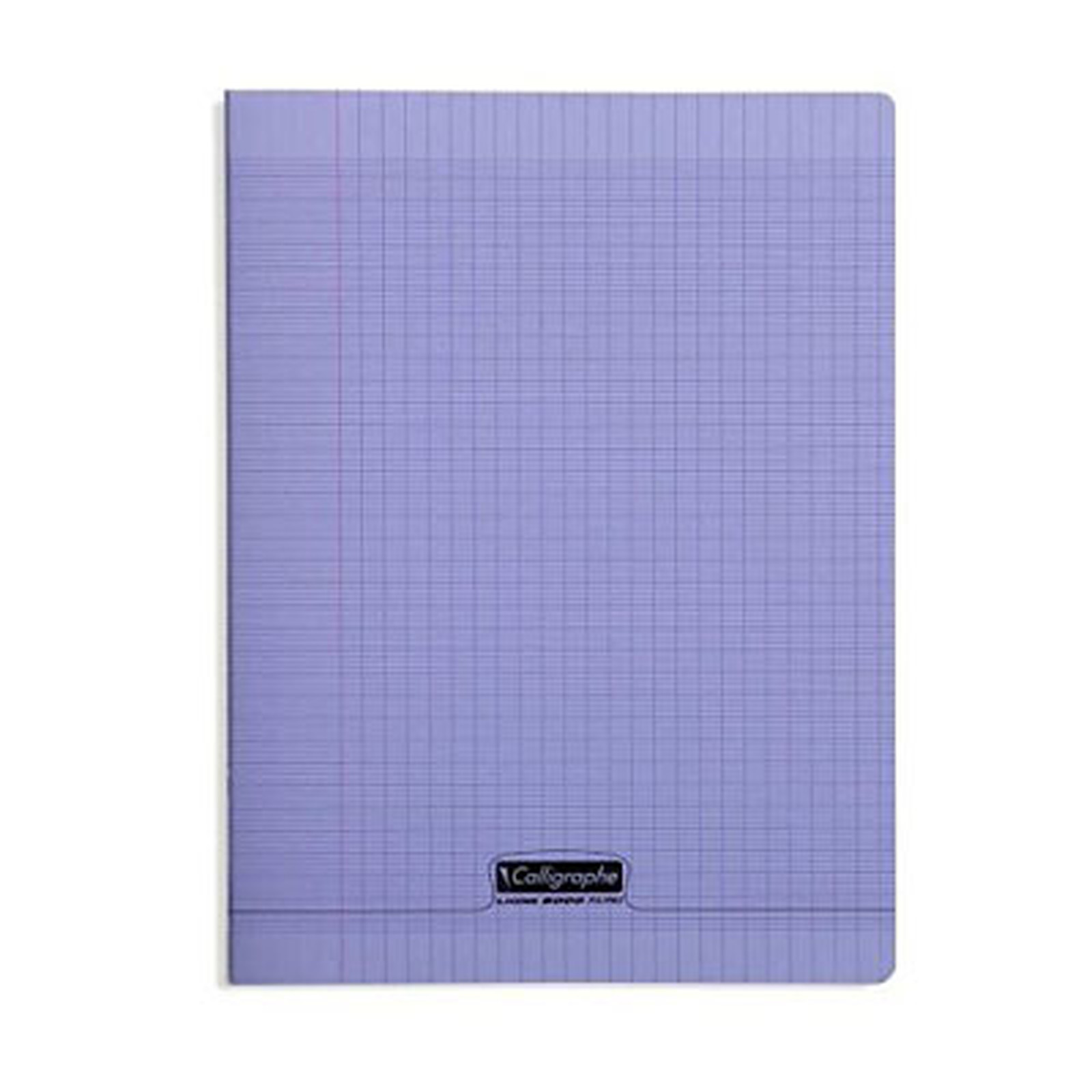 Calligraphe 8000 Polypro Cahier 96 pages 24 x 32 cm seyes grands carreaux Violet