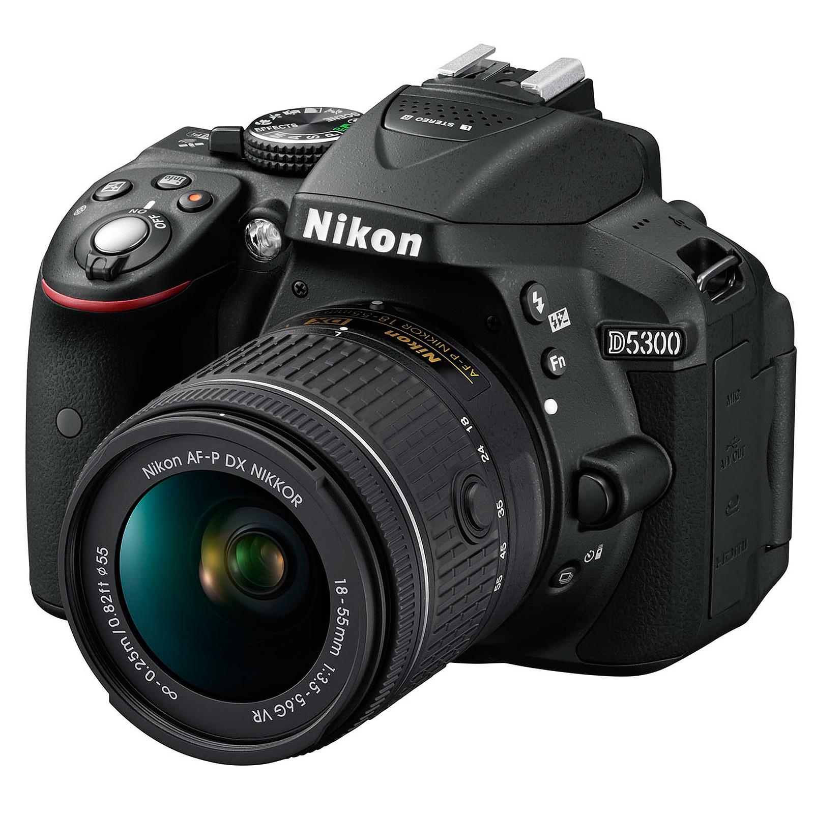 Nikon D5300 + AF-P 18-55MM F/3.5-5.6G VR