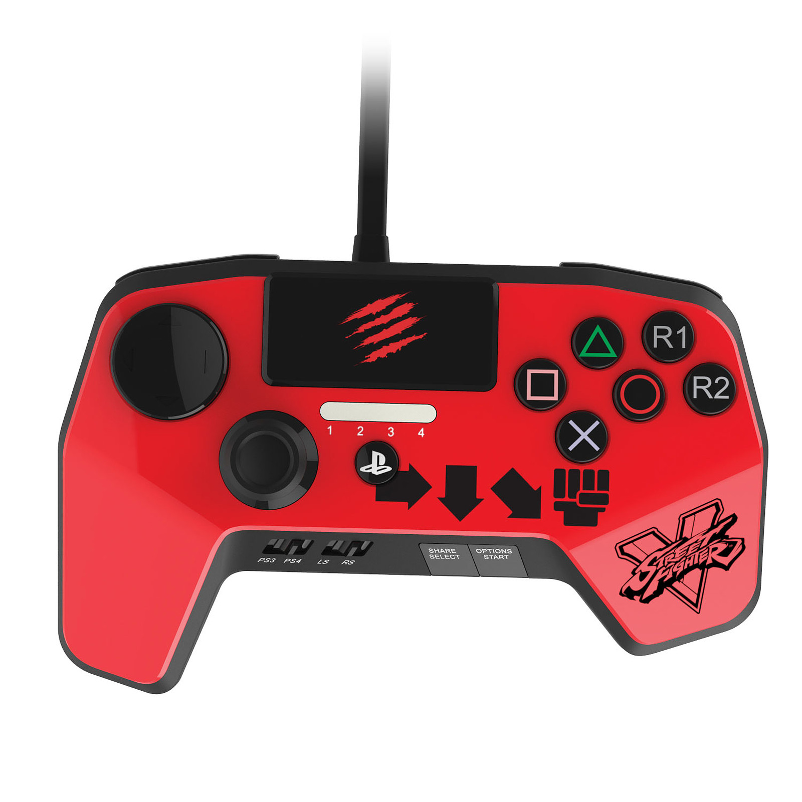 Mad Catz Street Fighter V FightPad PRO Ken