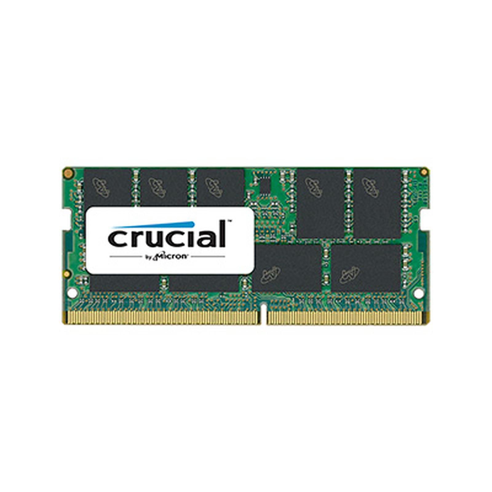 Crucial SO-DIMM DDR4 ECC 16 Go 2666 MHz CL19