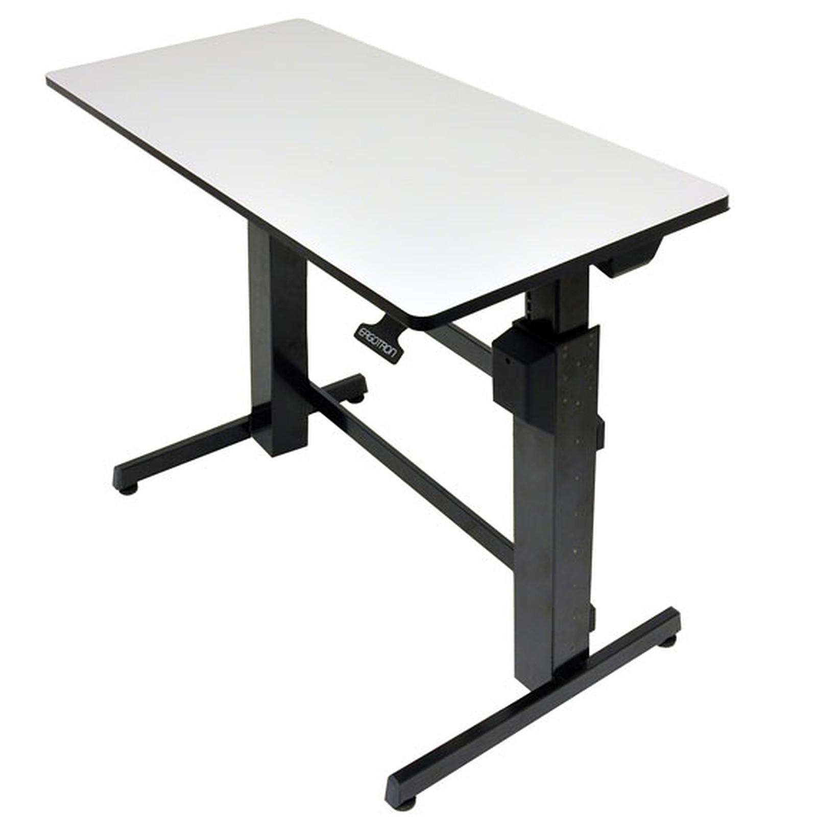 Ergotron workfit d bureau assis debout meuble ordinateur ergotron sur - Meuble ordinateur ...