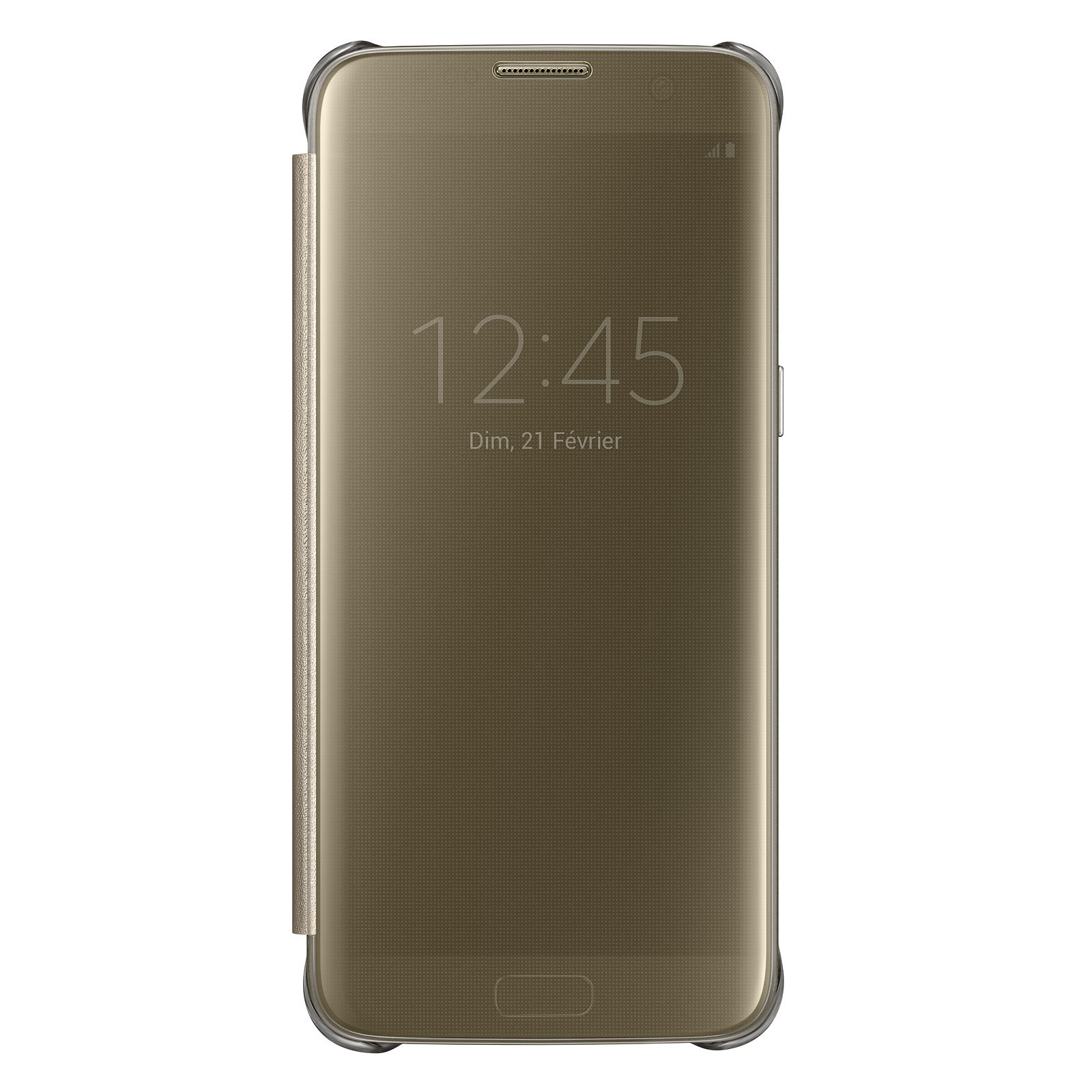 Samsung Clear View Cover Or Samsung Galaxy S7 Edge