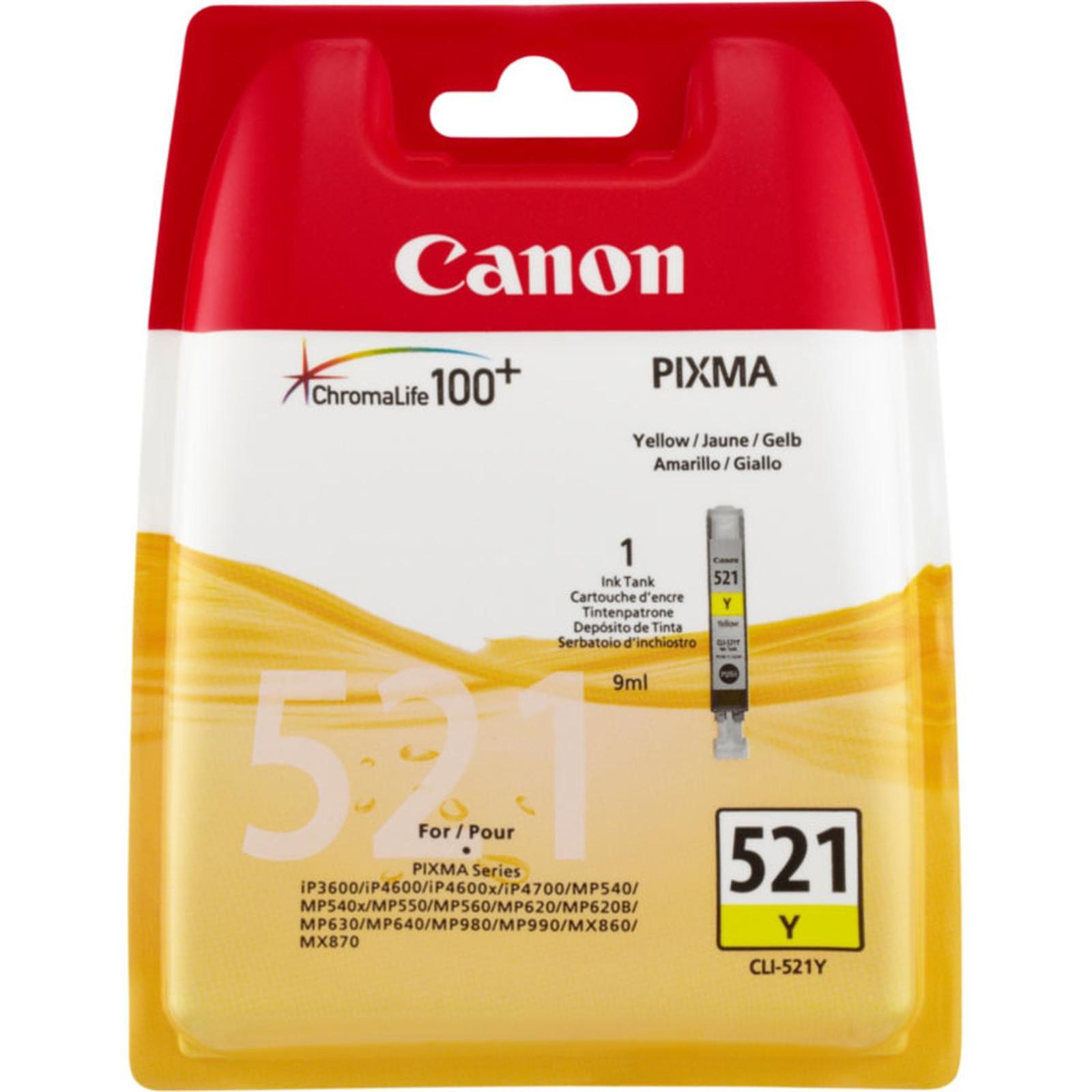 Canon CLI-521Y Blister