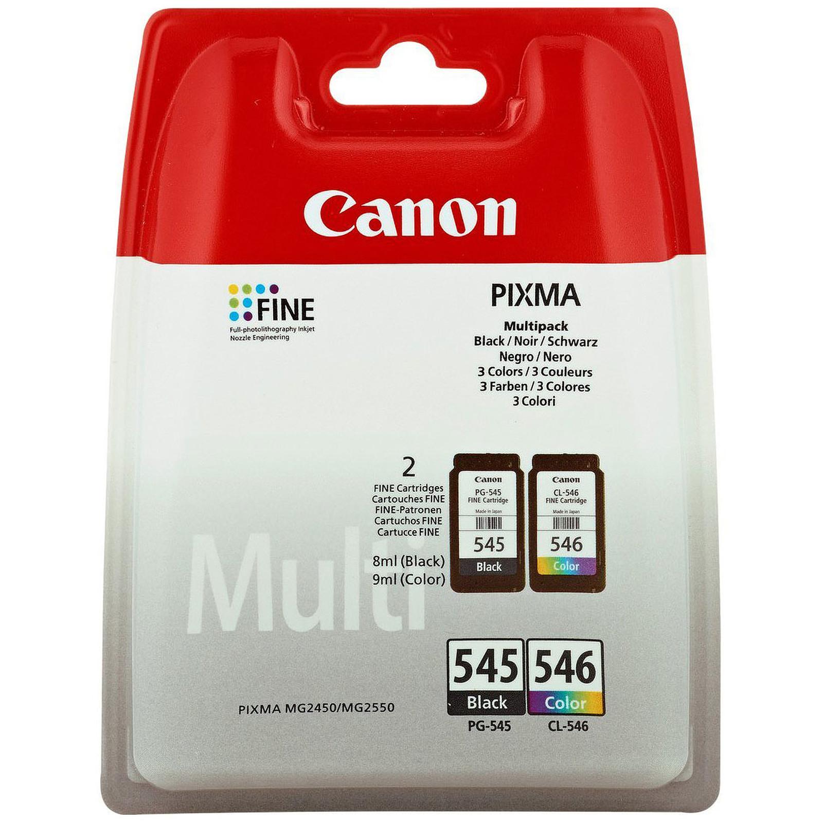 Canon PG-545 + CL-546 - Multipack (Couleur et Noir)