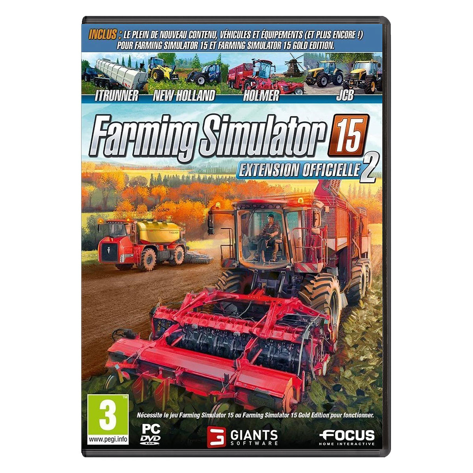 Farming Simulator 15 - Extension Officielle 2 (PC)