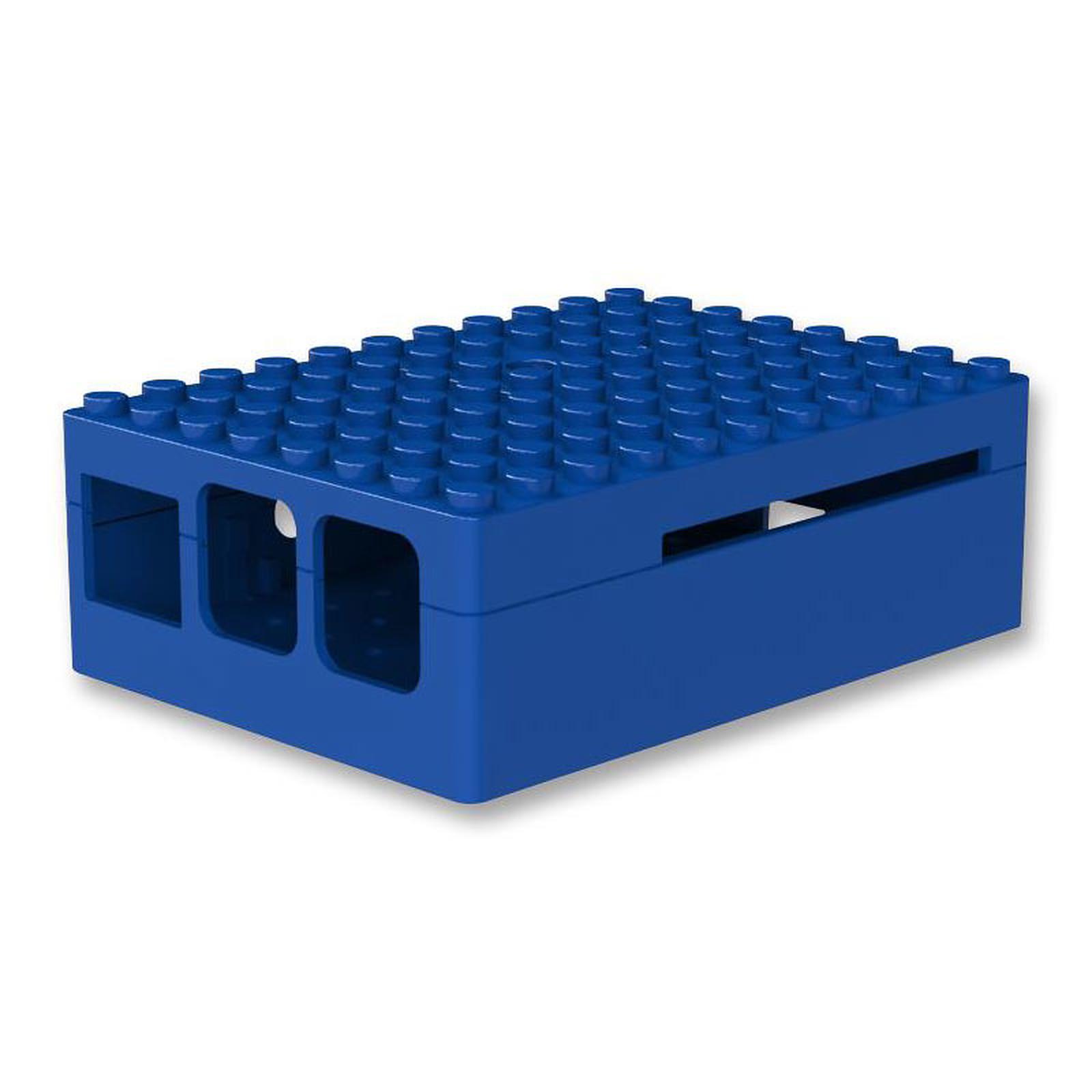 Multicomp Pi-Blox boitier pour Raspberry Pi 1 Model B+, Pi 2/3 (bleu)