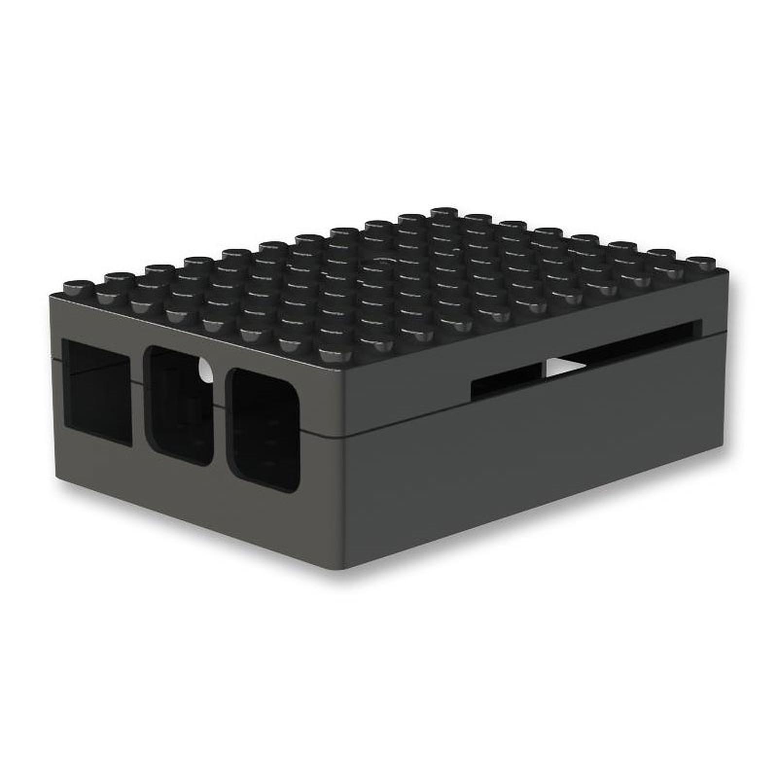 Multicomp Pi-Blox boitier pour Raspberry Pi 1 Model B+ / Pi 2/3 (noir)