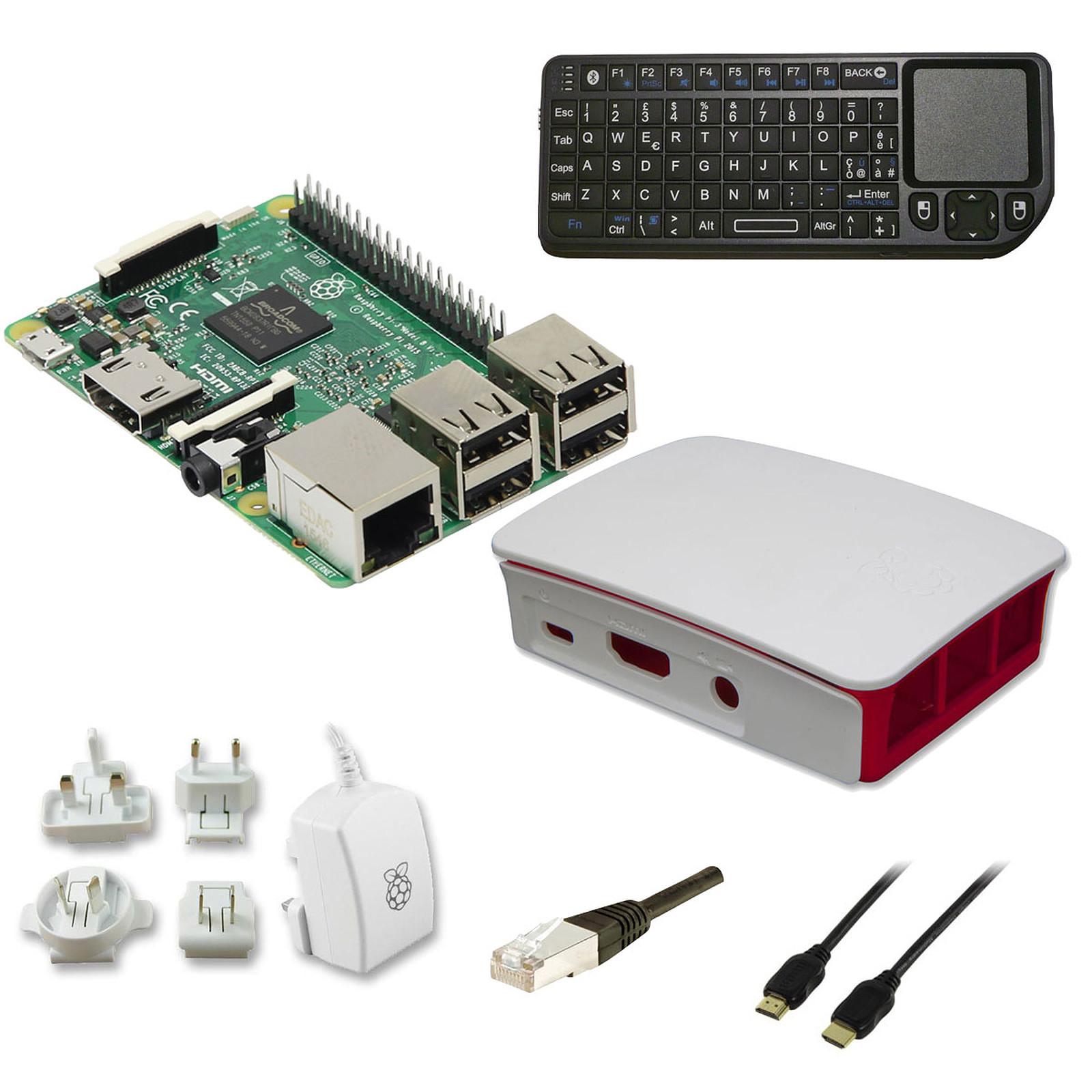 Raspberry Pi 3 Multimedia Kit (blanc)