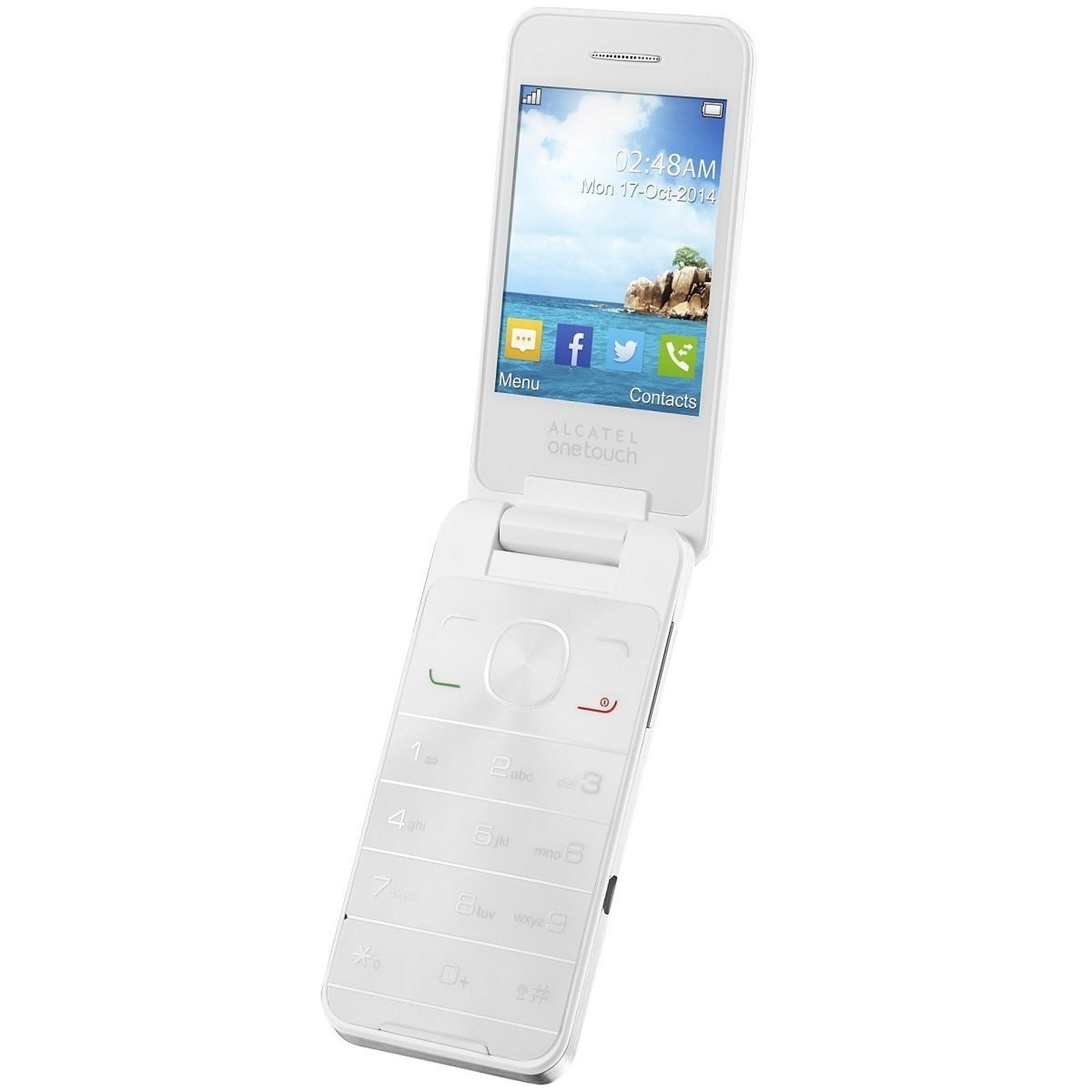 Alcatel 20.12D Blanc