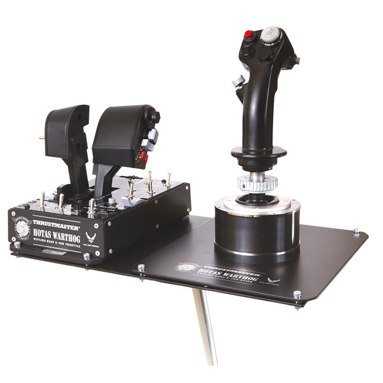 Thrustmaster HOTAS WARTHOG + Wheel Stand Pro v2