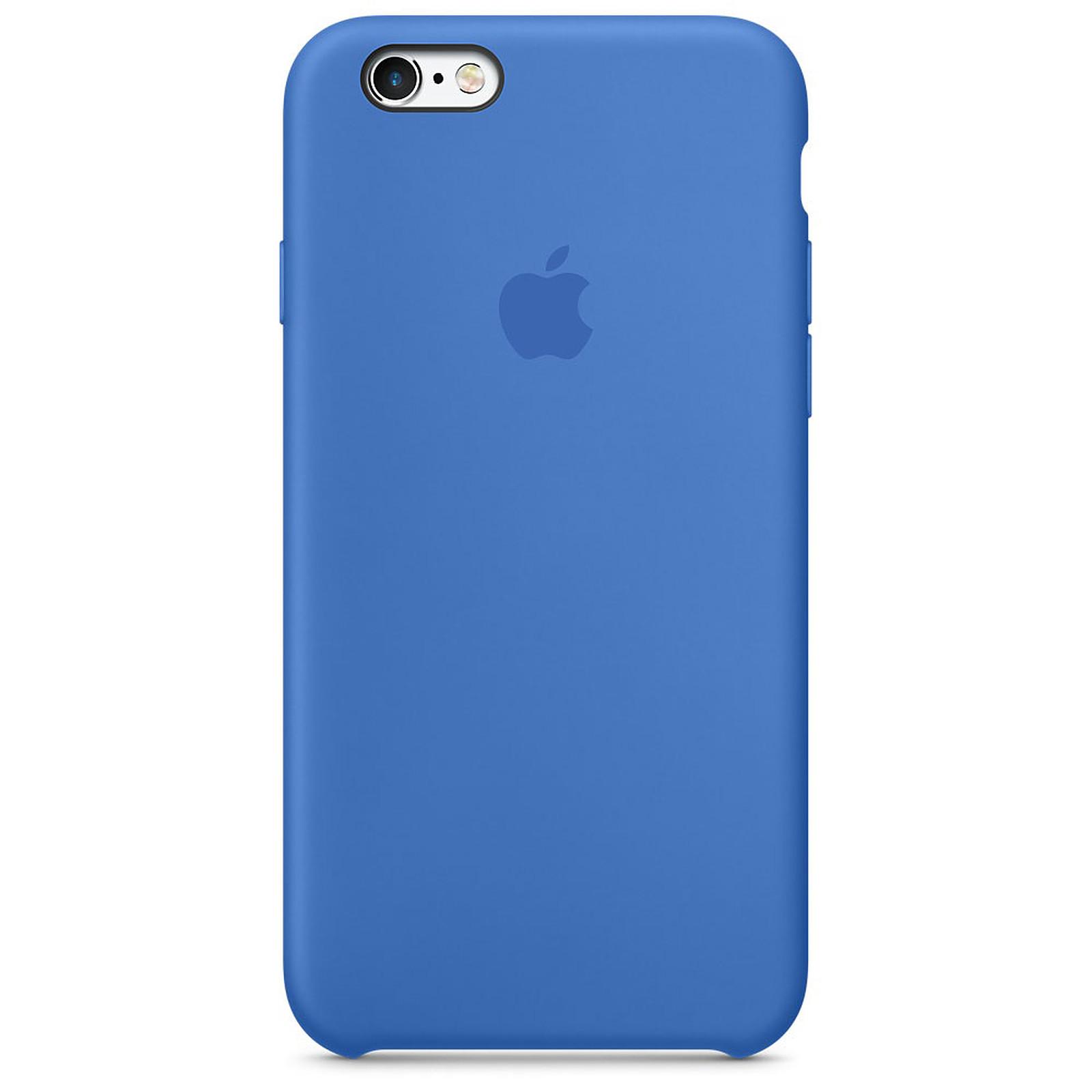 Apple Coque en silicone Bleu Royal Apple iPhone 6s - Coque ...
