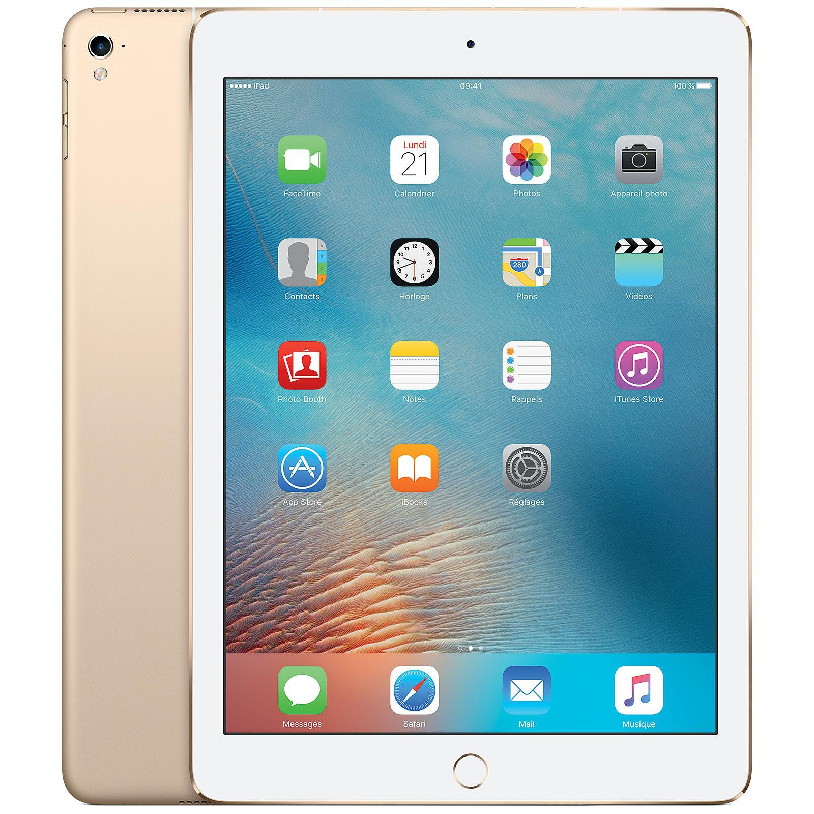 "Apple iPad Pro 9.7"" Wi-Fi + Cellular 256 Go Or"