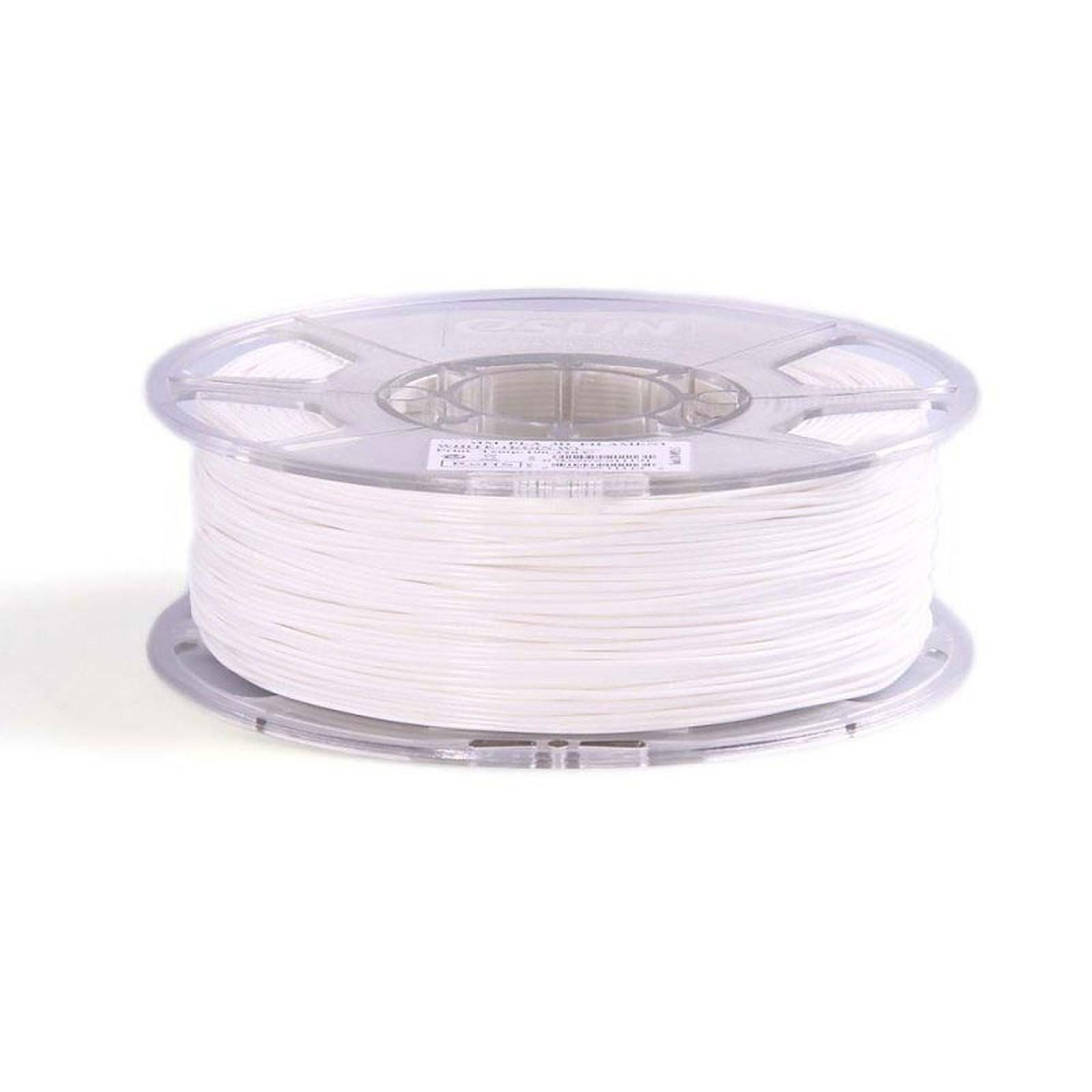 Filament PLA 1Kg pour imprimante 3D - Blanc