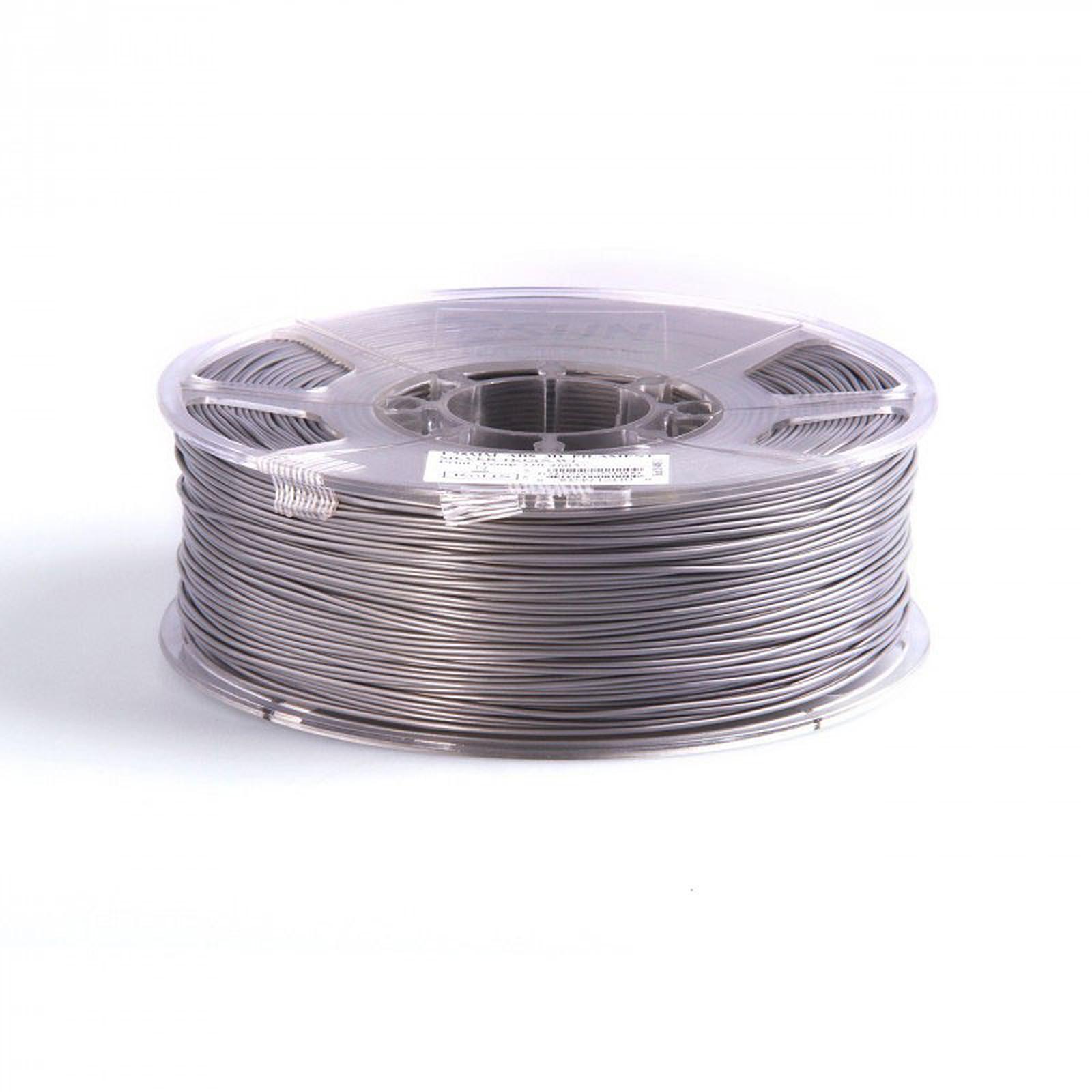 Filament PLA 3mm 1Kg pour imprimante 3D - Argent