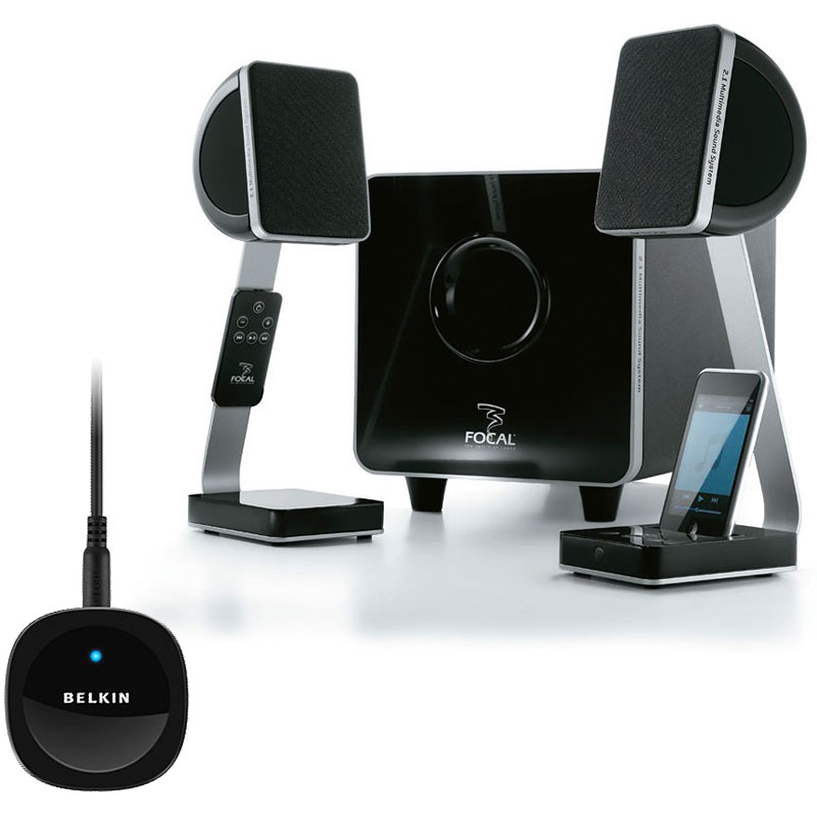 Focal XS + Belkin Bluetooth Music Receiver