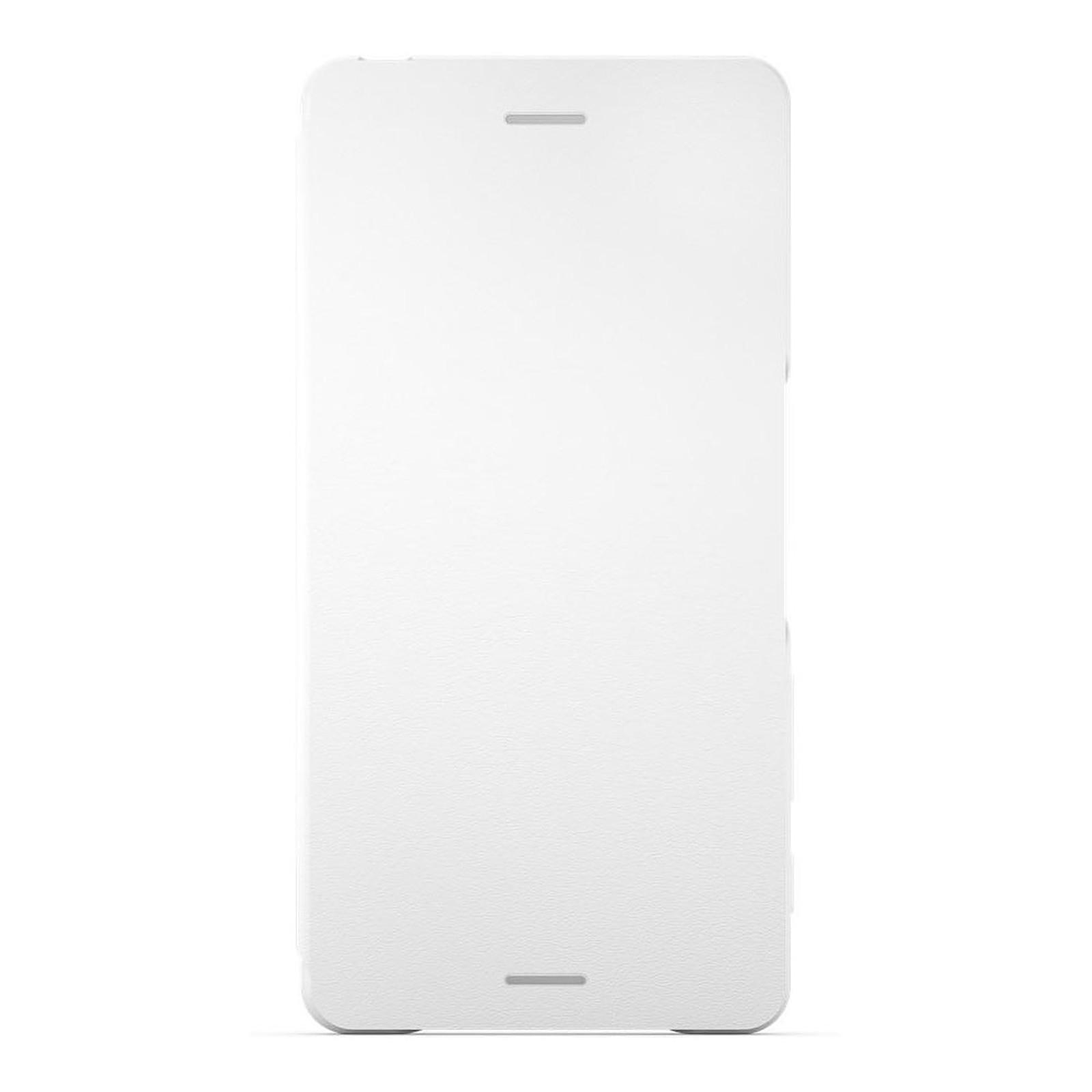 Sony Style Cover Flip SCR52 Blanc Sony Xperia X