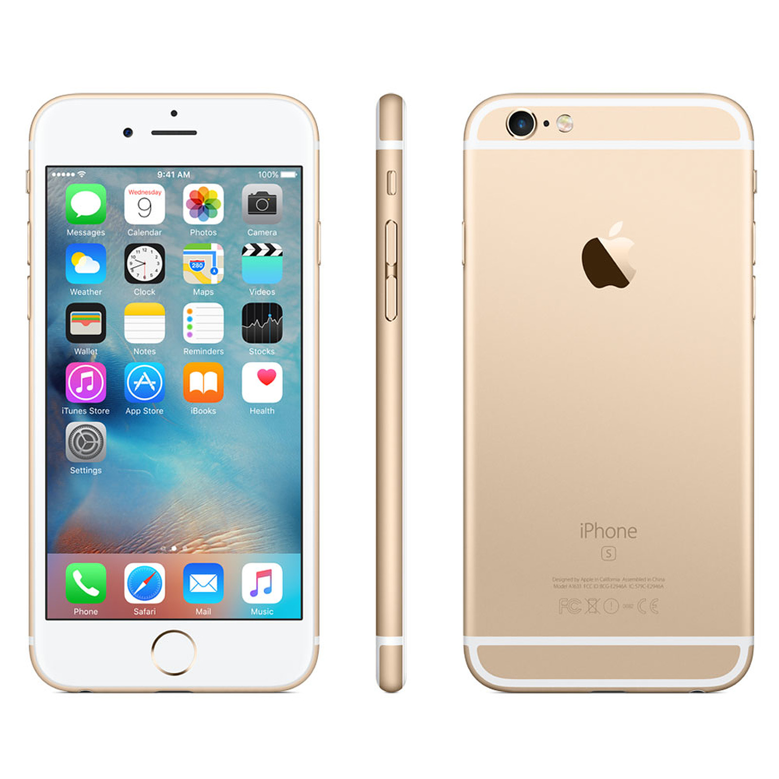 apple iphone 6s plus 128 go or mobile smartphone apple sur