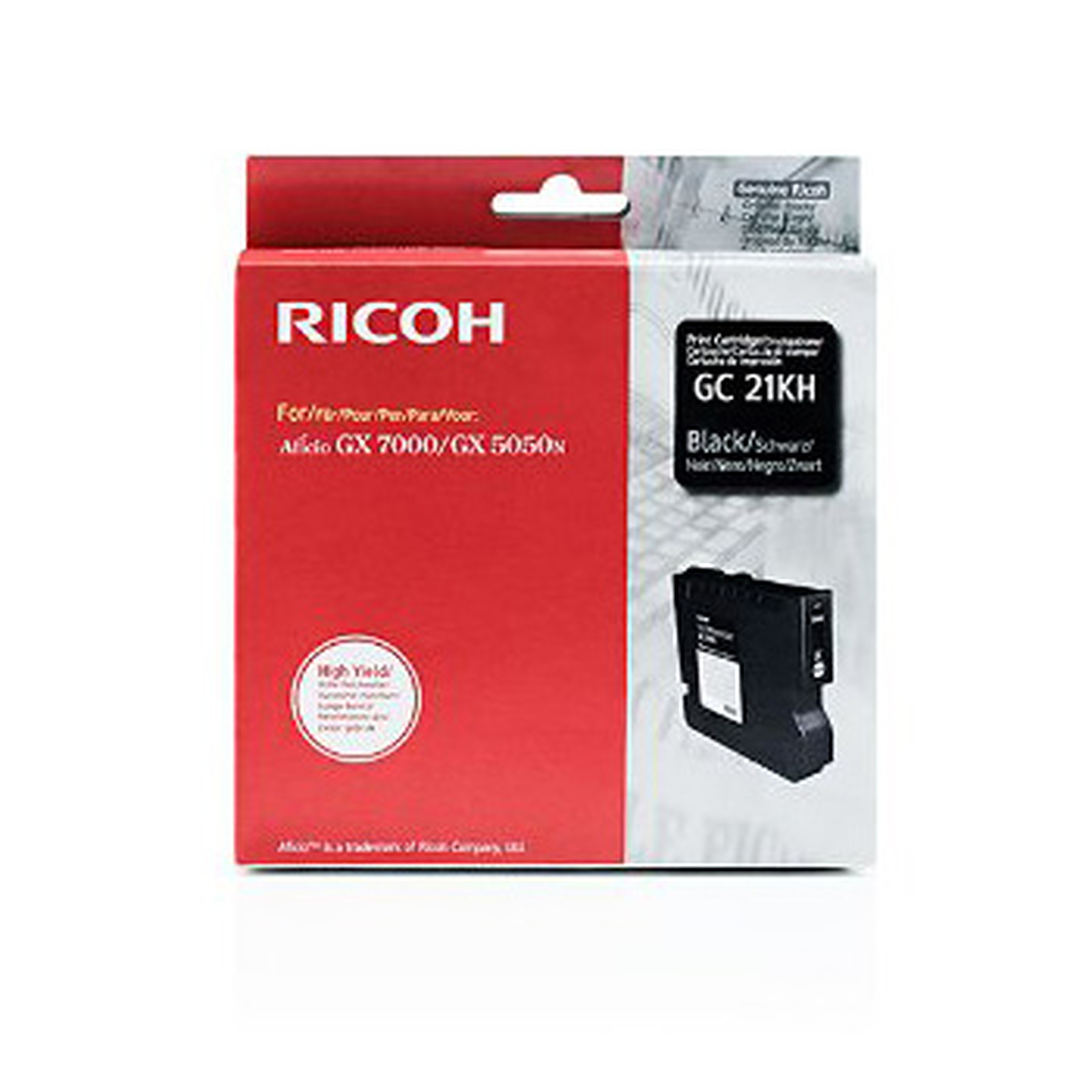Ricoh GC21KH Noir - 405536