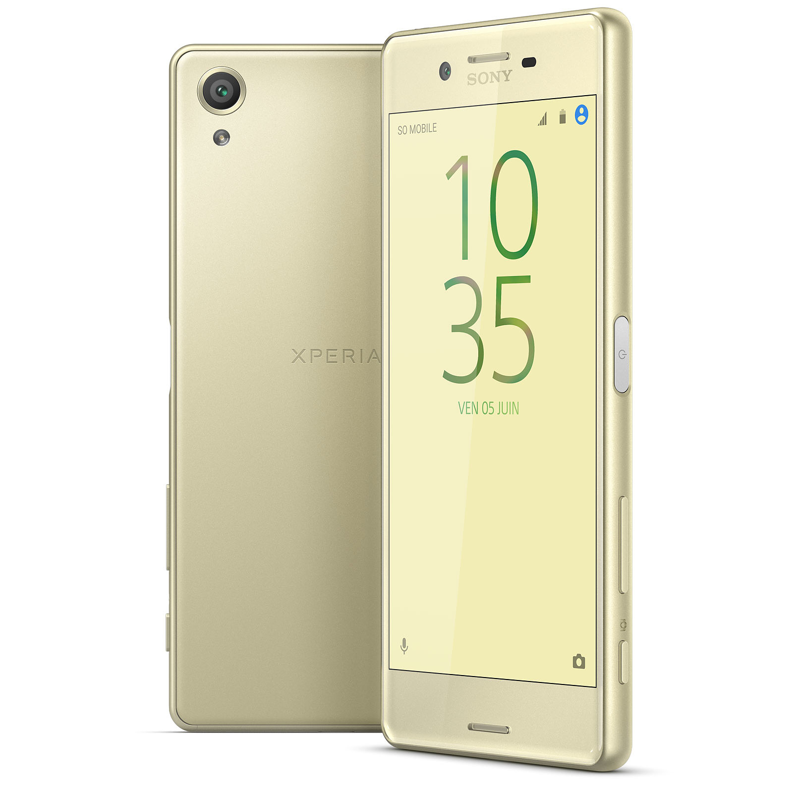 Sony Xperia X Dual SIM 64 Go Or Lime