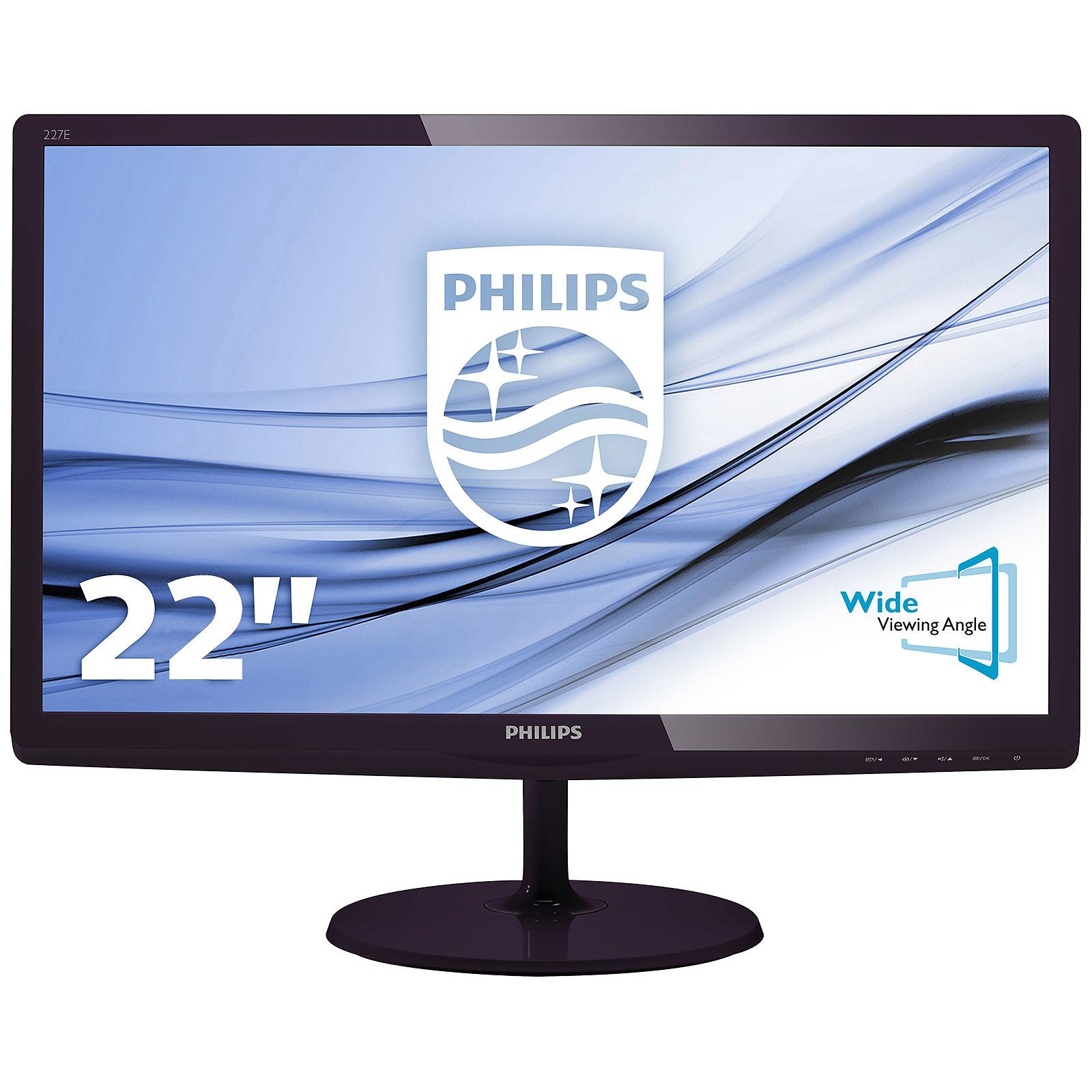 """Philips 21.5"""" LED - 227E6EDSD"""