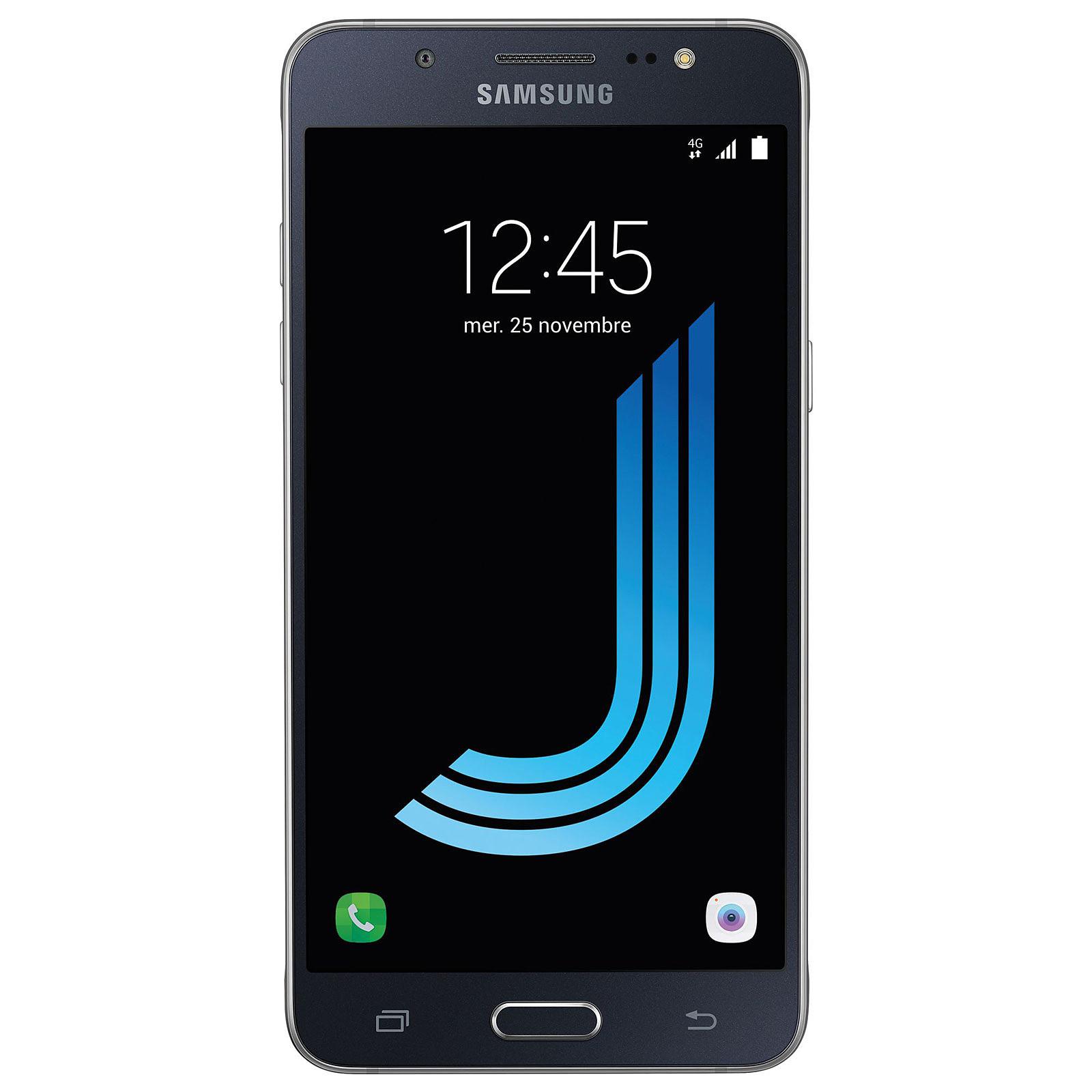 samsung galaxy j5 2016 noir mobile smartphone samsung sur. Black Bedroom Furniture Sets. Home Design Ideas