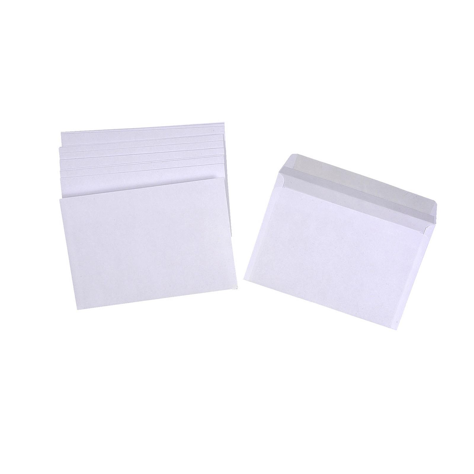 500 enveloppes C6 auto-adhésives 80g pleine