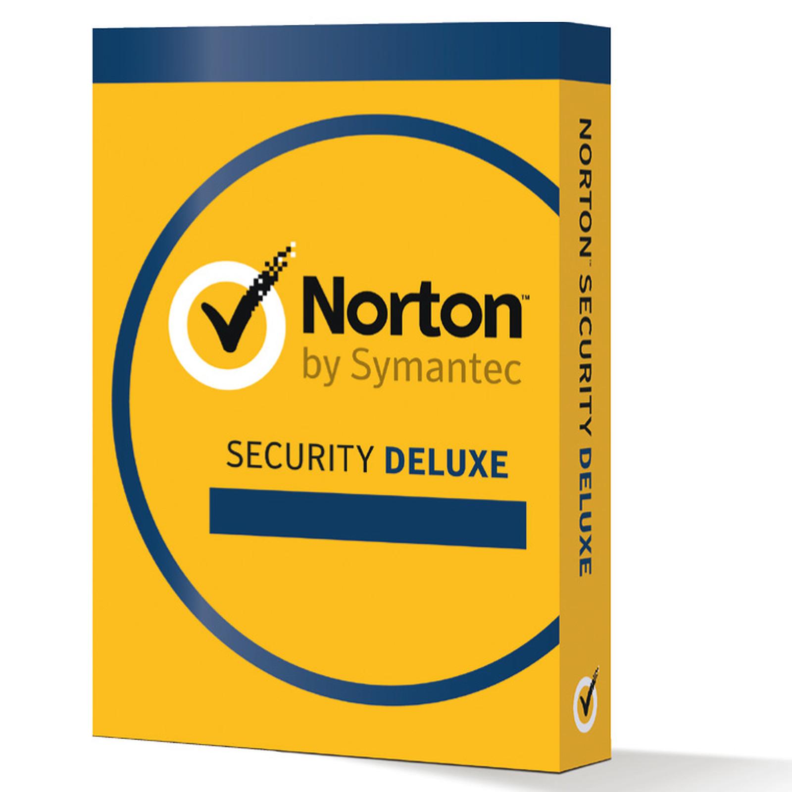 Norton Security Deluxe - Licence 1 an 3 postes