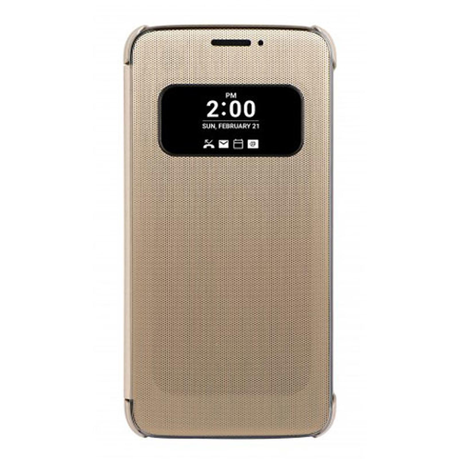 LG Étui Folio Mesh Or LG G5