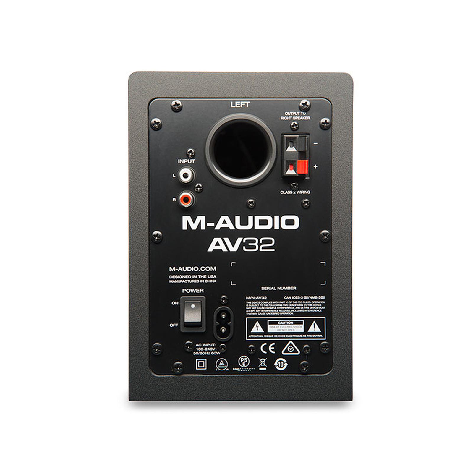 audio-technica at-lp60usb + m-audio av 32 - platine vinyle audio-technica  sur ldlc