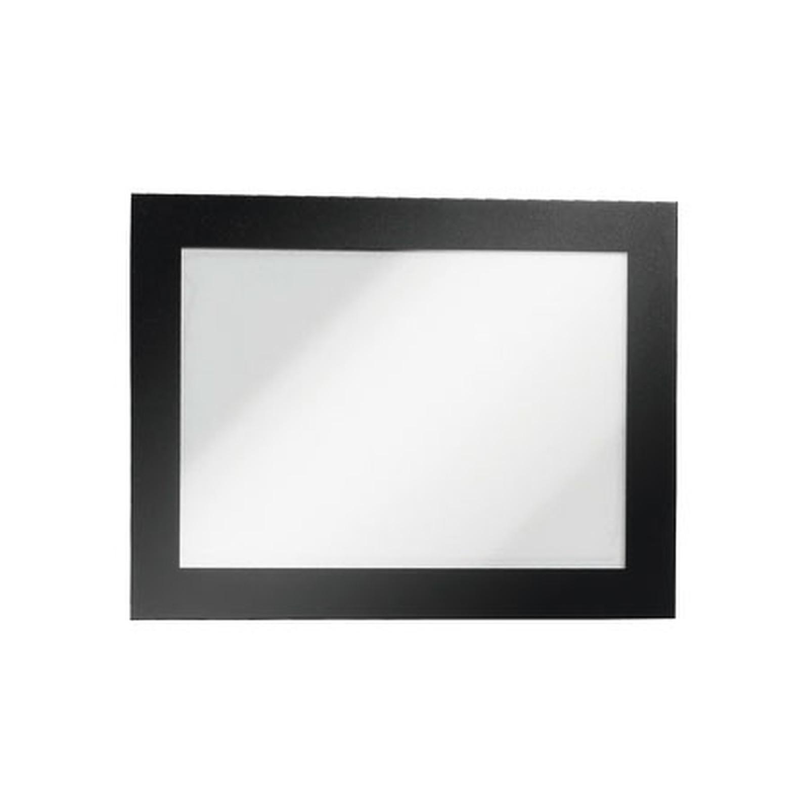 Durable Sachet de 2 cadres Duraframe A5 Noir
