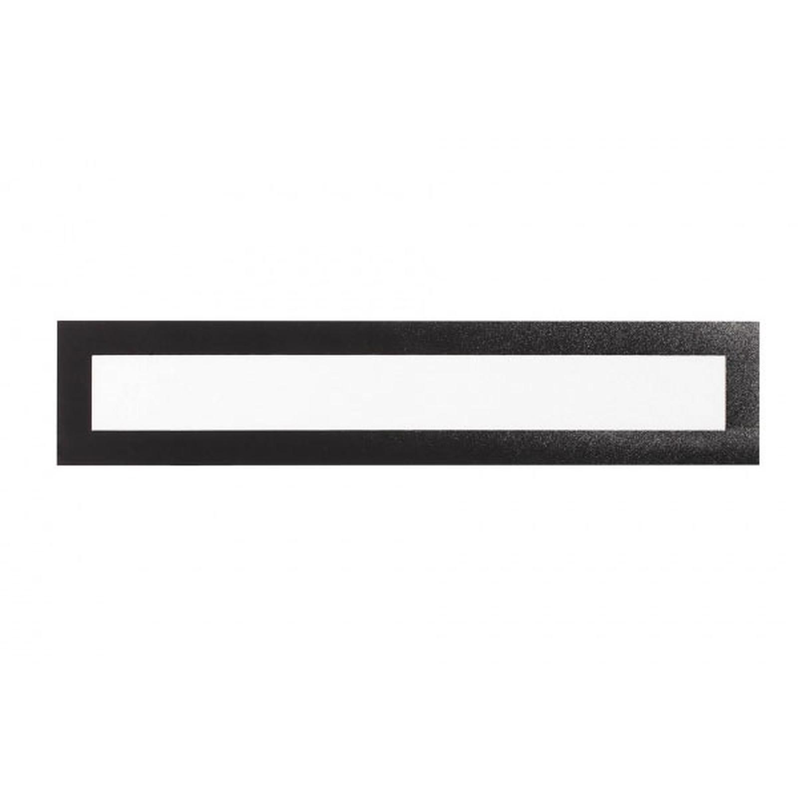 Durable Sachet de 5 cadres Duraframe Magnetic Top A3 Noir